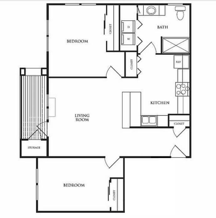 Vancouver, WA Alderbrook Apartments Floor Plans