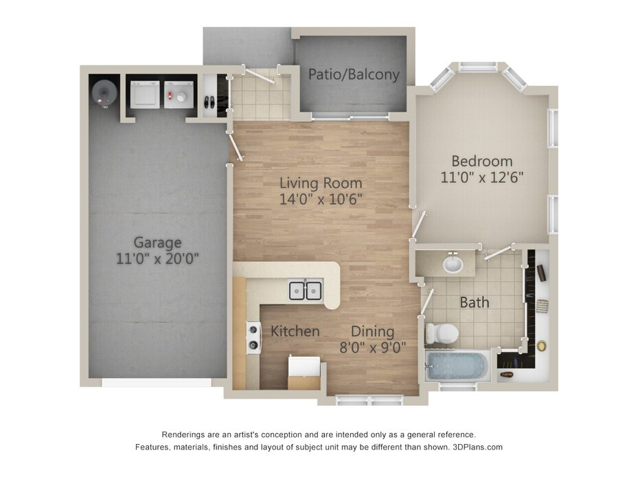 . 1   2 Bedroom Apartments on Richmond Ave   Richmond Towne Homes