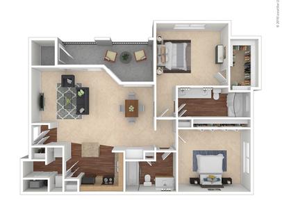 Plano Tx Thornbury At Chase Oaks Floor Plans Apartments