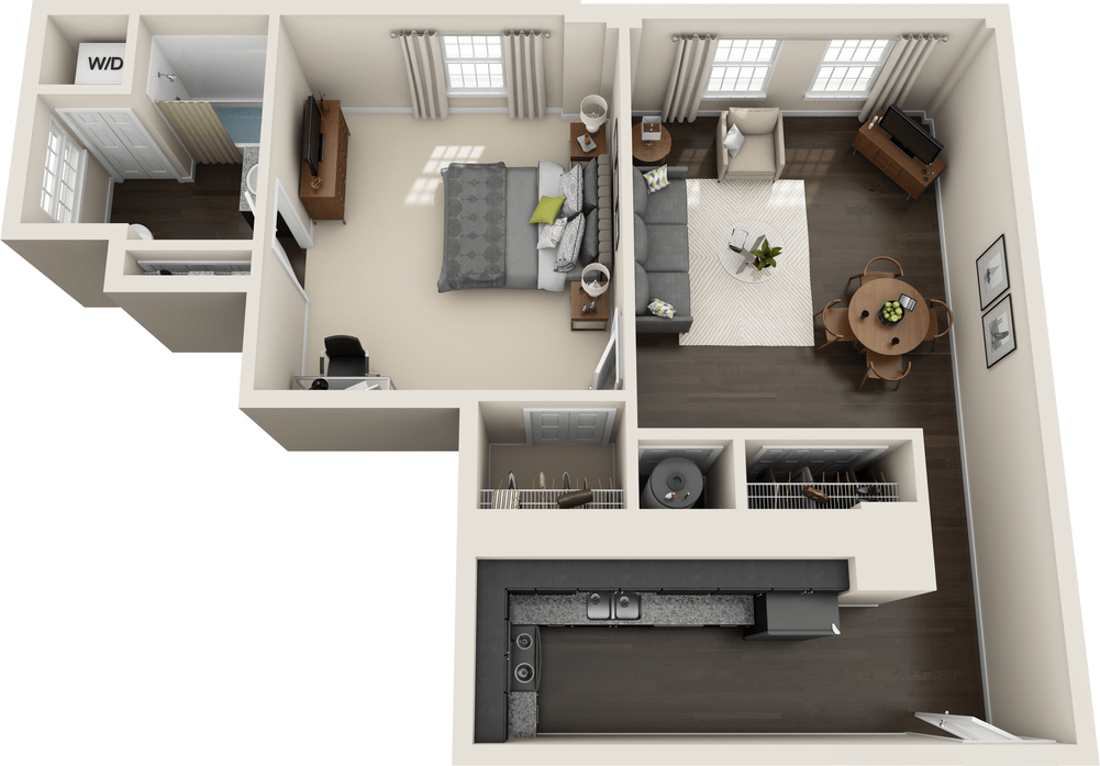 Indianapolis In Temple Lofts Floor Plans Apartments In