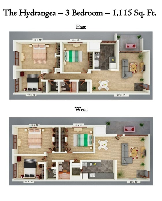 Pinewood Gardens Apartments Floor Plans