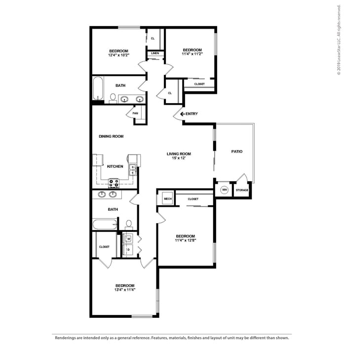 Princeton Court Apartments: Stockton, CA Cambridge Court Apartments Floor Plans