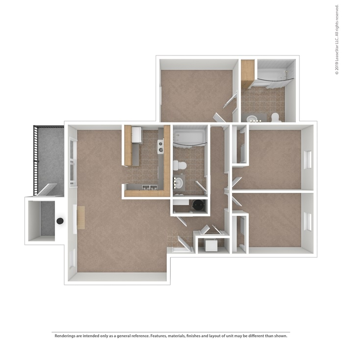 Ponderosa Apartments: 1, 2 & 3 Bedroom Apartments Tacoma, WA