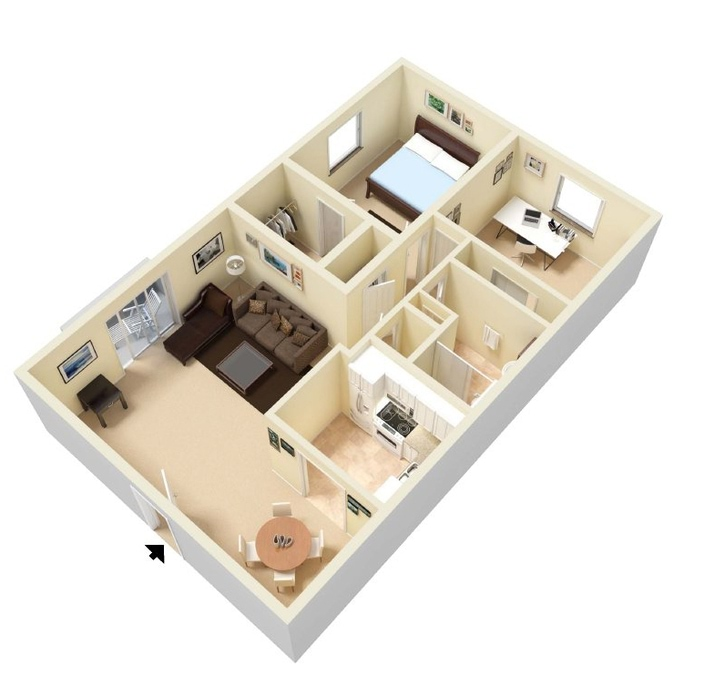 Ious 2 3 Bedroom Apartments