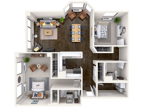 North Bergen NJ Apartments | Half Moon Harbour Apartments
