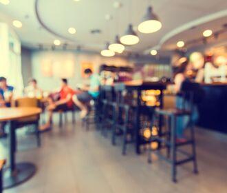 Estrella Del Mercado - stock photo of people seated in a cafe