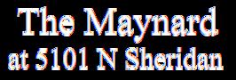 The Maynard at 5101 N Sheridan