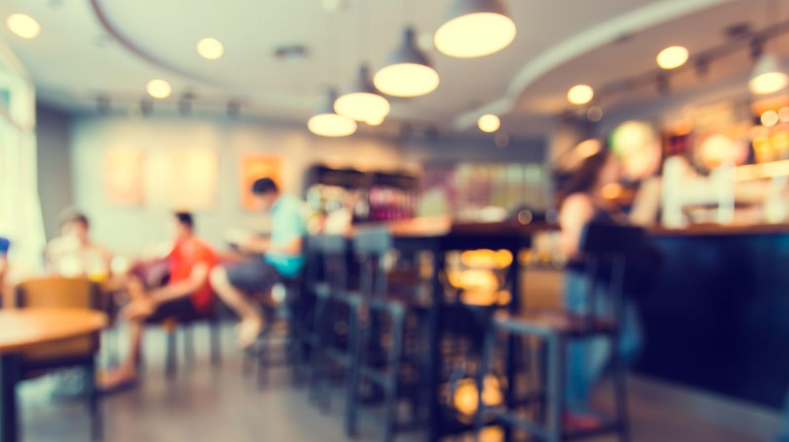 Seabreeze Farms - stock photo of people seated in a café