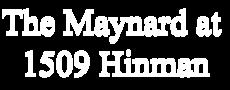 1509 Hinman Avenue