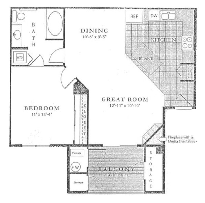 1 & 2 Bedroom Apartments In Englewood, CO