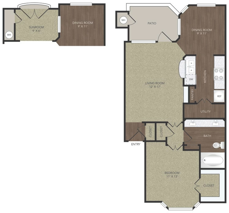 1-2 Bedroom Apartments Fort Worth
