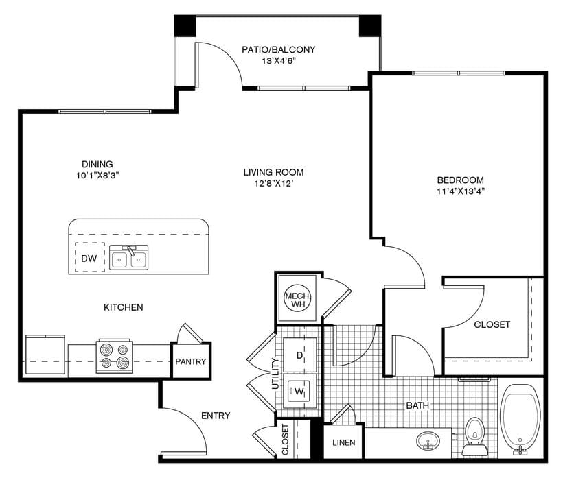 Forney, TX Parc At Windmill Farms Floor Plans