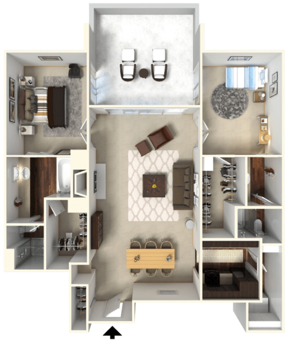 2 Bedroom Apartments Denver: 1-2 Bedroom Apartments Denver
