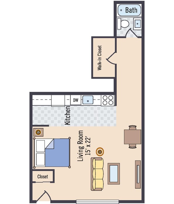 Silver Spring, MD Glenmont Forest Floor Plans