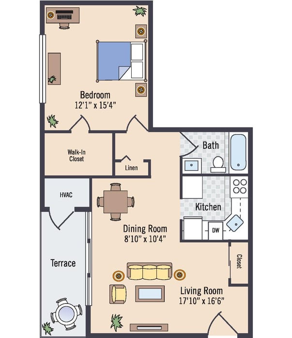 Spring Forest Apartments: Silver Spring, MD Glenmont Forest Floor Plans