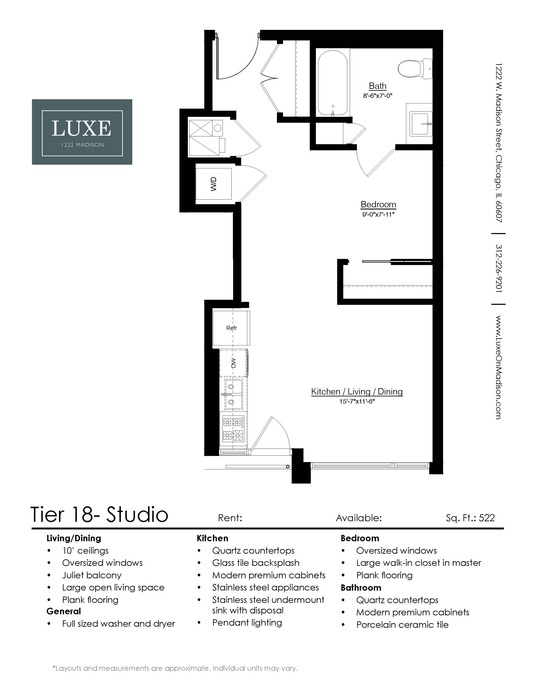 studio 1 2 bedroom apartments for rent chicago luxe on madison bedroom apartments for rent chicago