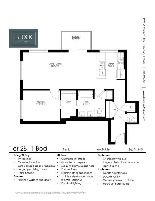 studio 1 2 bedroom apartments for rent chicago luxe on madison bedroom apartments for rent chicago