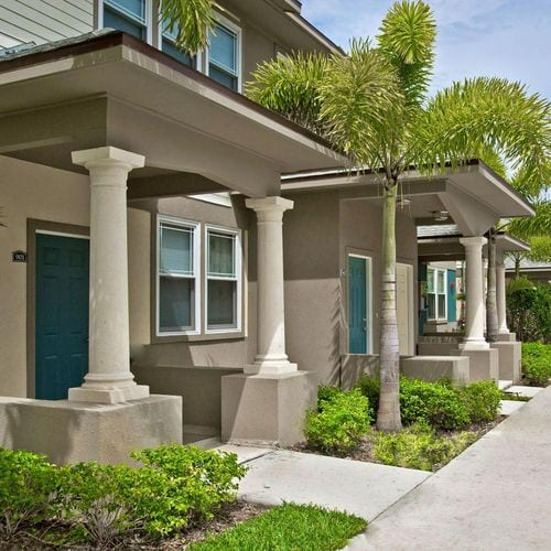 West Palm Beach, FL Colony Park Apartments Floor Plans