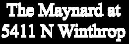 The Maynard at 5411 North Winthrop