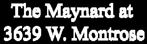 The Maynard at 3639 W. Montrose