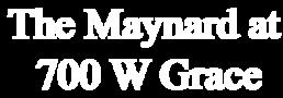 The Maynard at 700 West Grace
