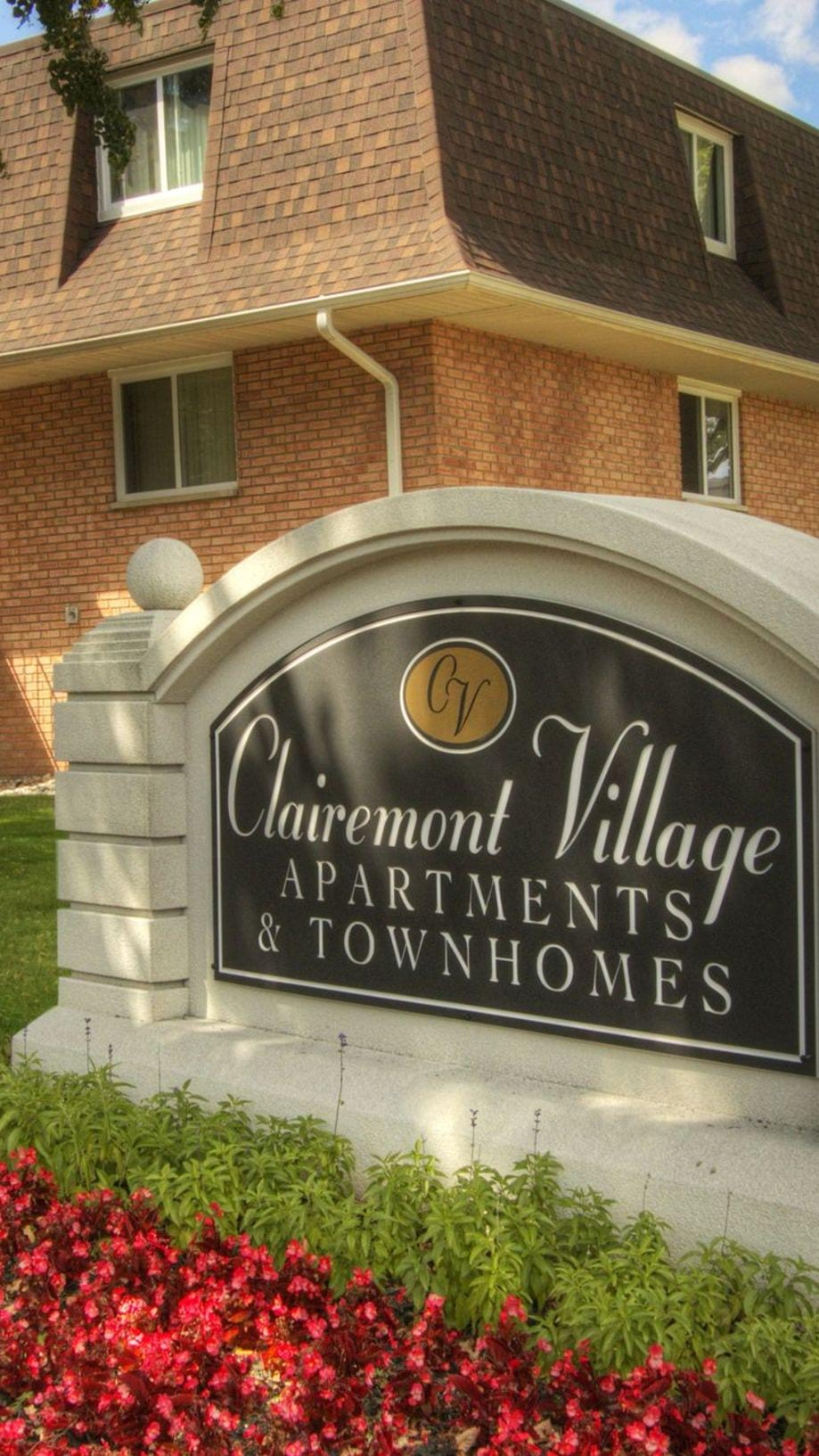 Apartments for Rent in Saginaw, MI   Clairemont Village ... on 750 square feet apartment plans, 2 bedroom garage apartment plans, apartment design plans, townhouse with garage plans, large mansion layout plans, 5 bedroom 3 bath floor plans, townhouse apartment building, two apartments floor plans, townhouse apartment layout,