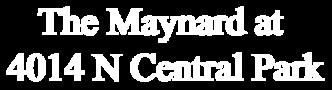 The Maynard at 4014 North Central Park