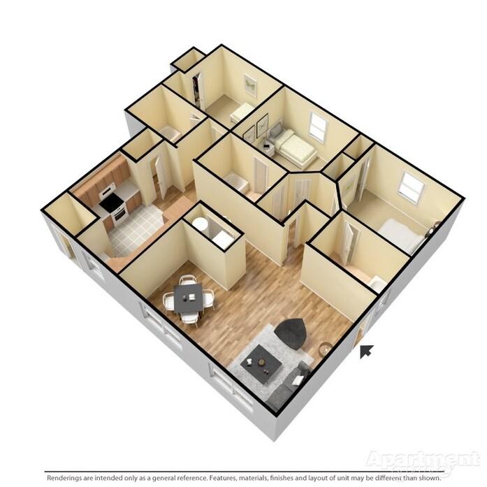 Watford City, ND Fairways At Hunter Run Floor Plans
