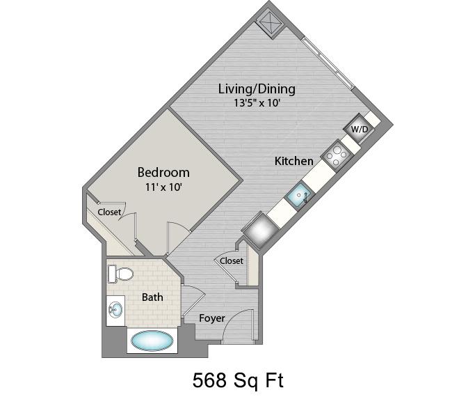 Apartment 346 floorplan