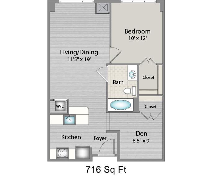 Apartment 324 floorplan