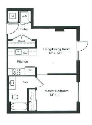 floorplan image of 1-0115