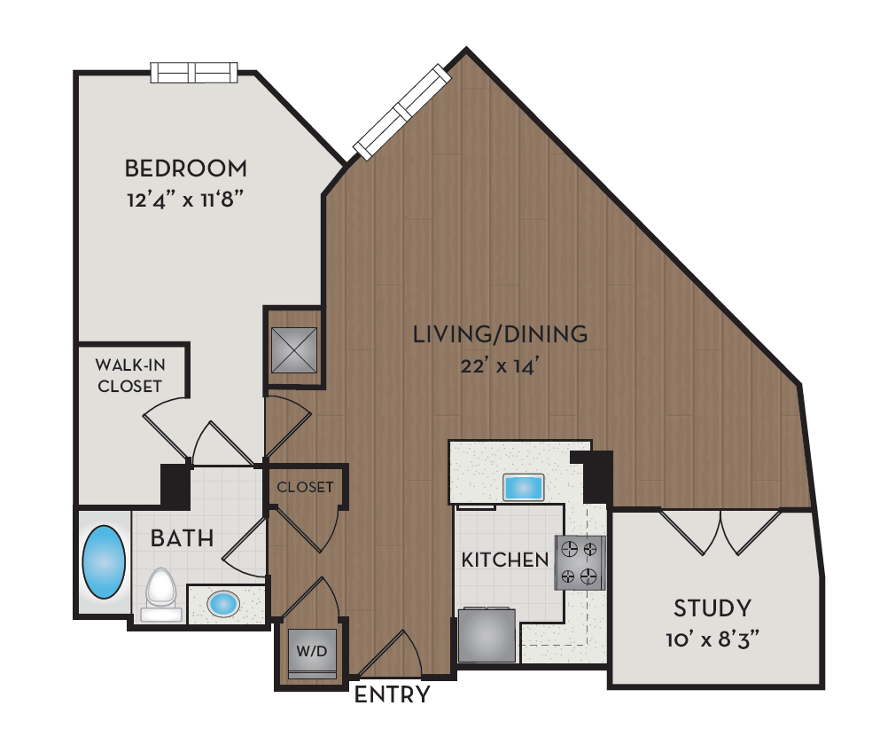 Apartment 539 floorplan