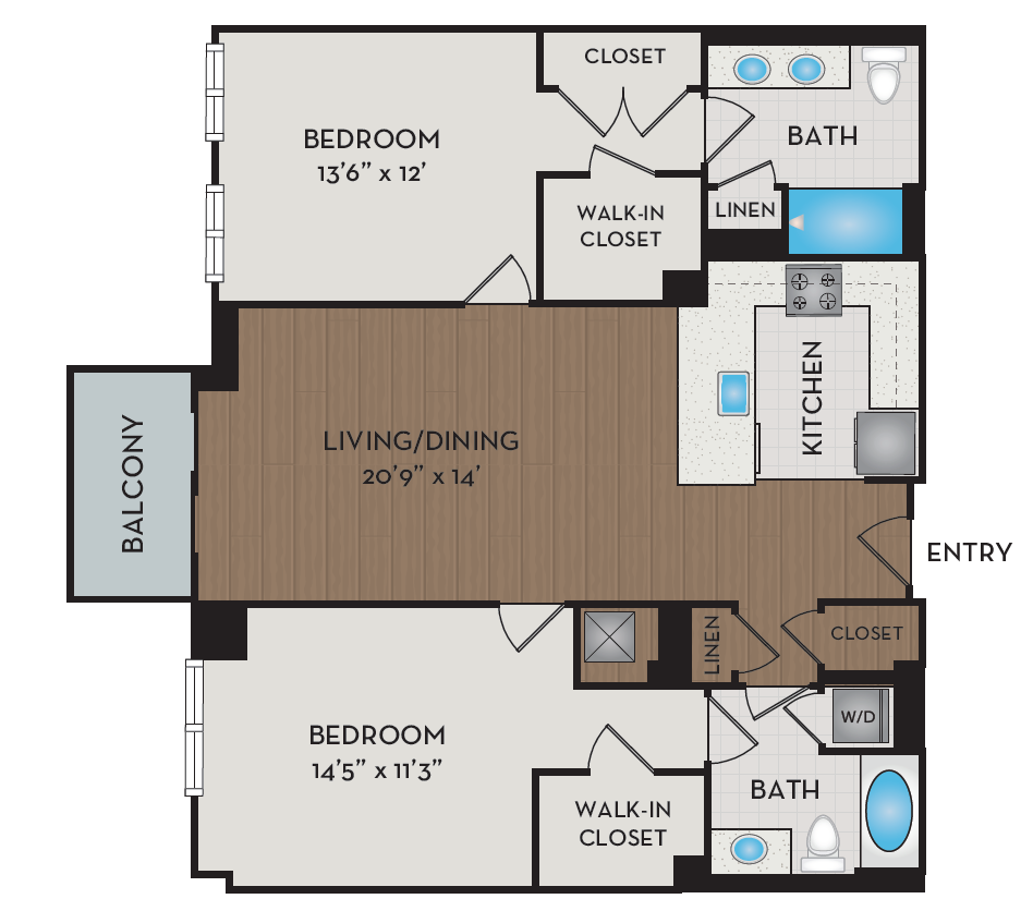 Apartment 248 floorplan