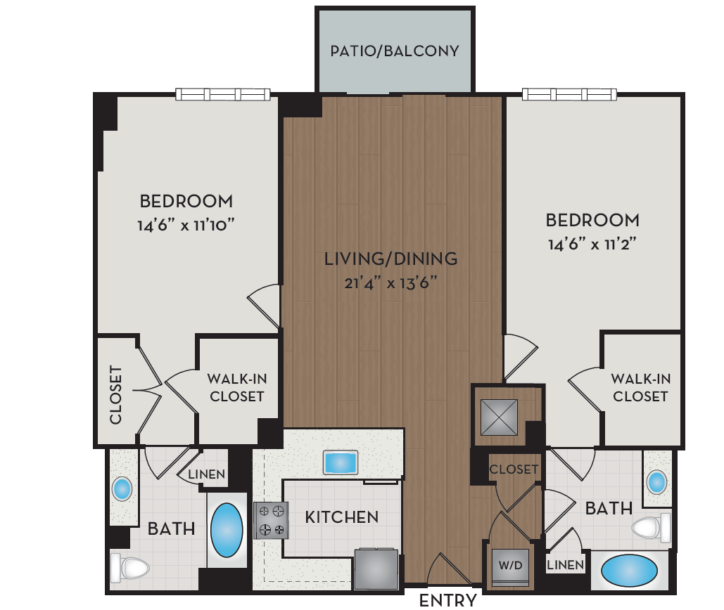 Apartment 337 floorplan
