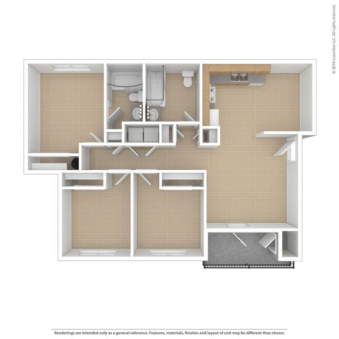 Yakima, WA Sagewood Apartments Floor Plans