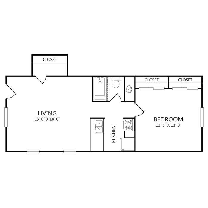 Dallas, TX The Granada Floor Plans