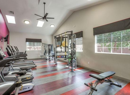 Image of the community fitness area.