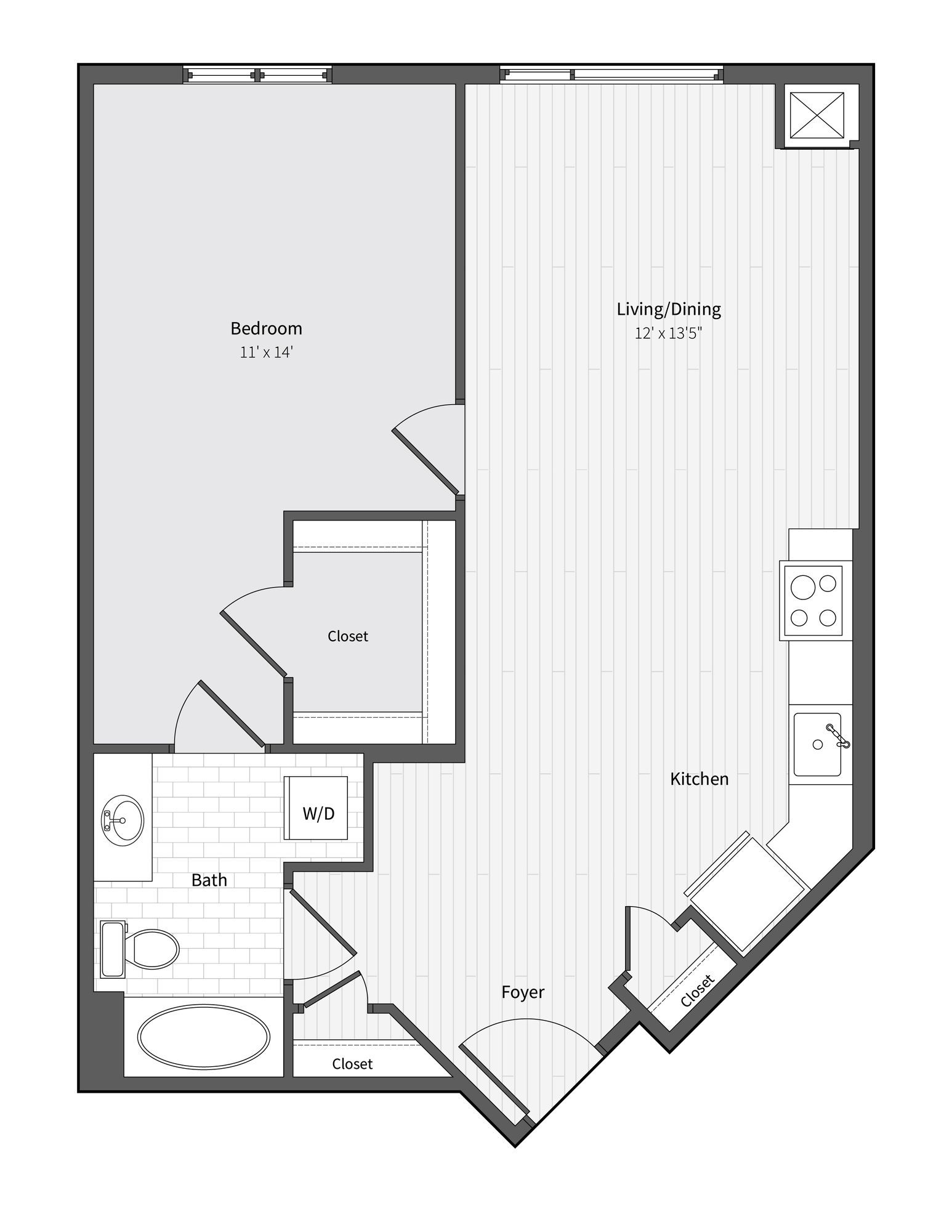 Apartment 752 floorplan