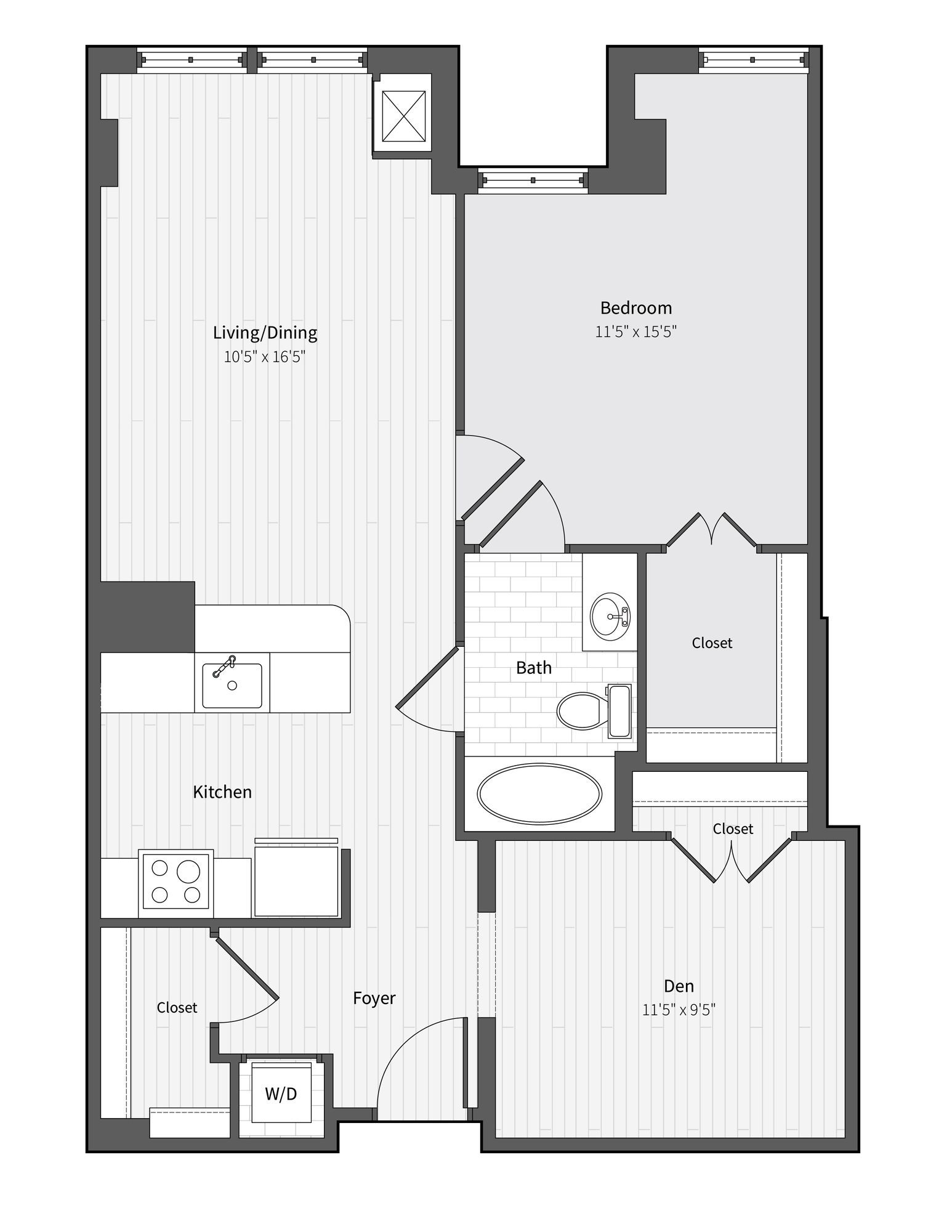 Apartment 667 floorplan