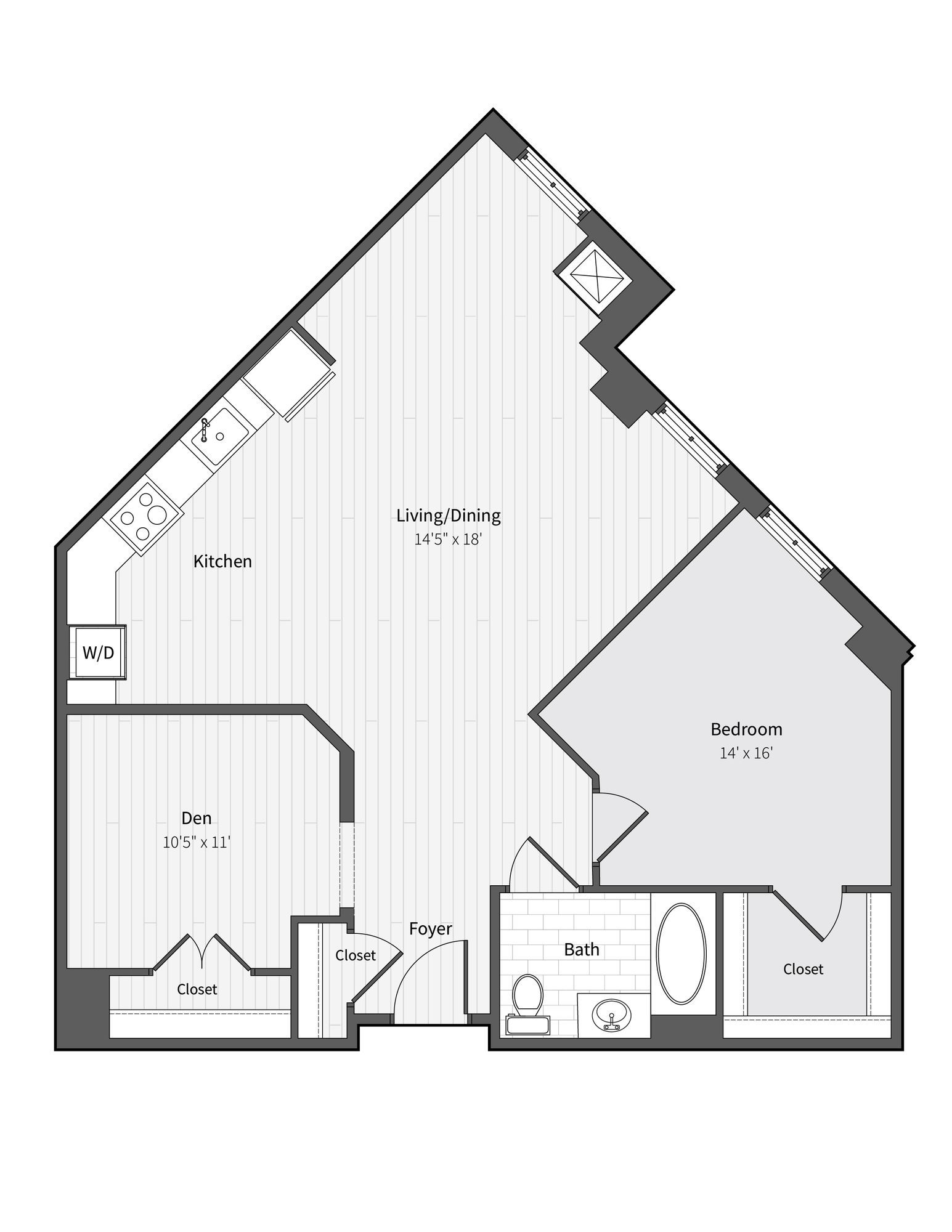Apartment 249 floorplan