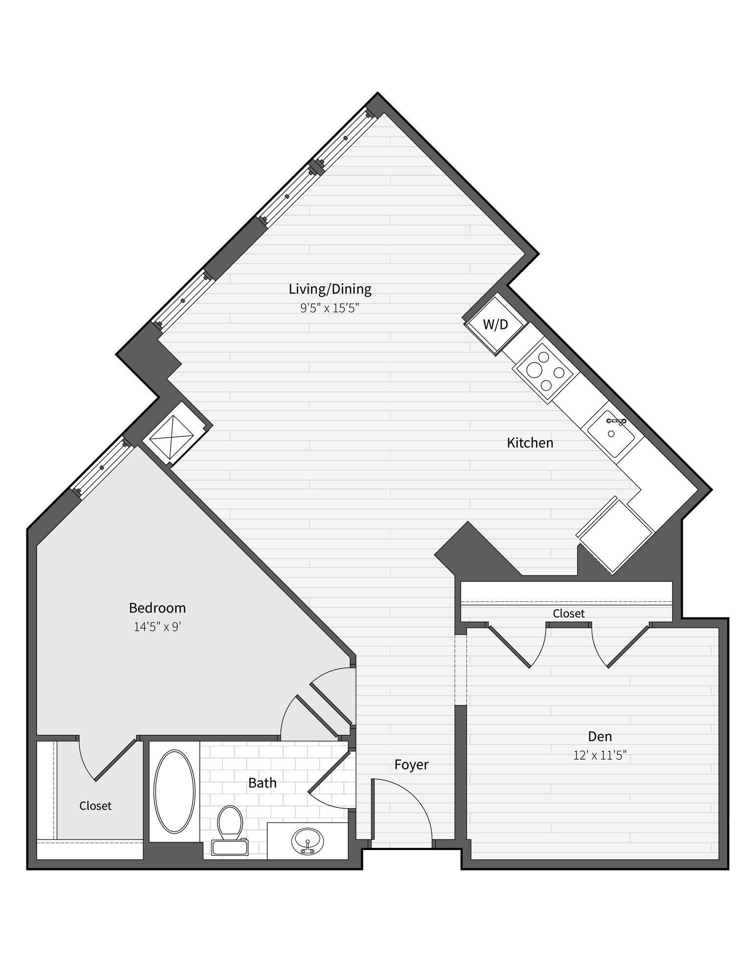 Apartment 761 floorplan