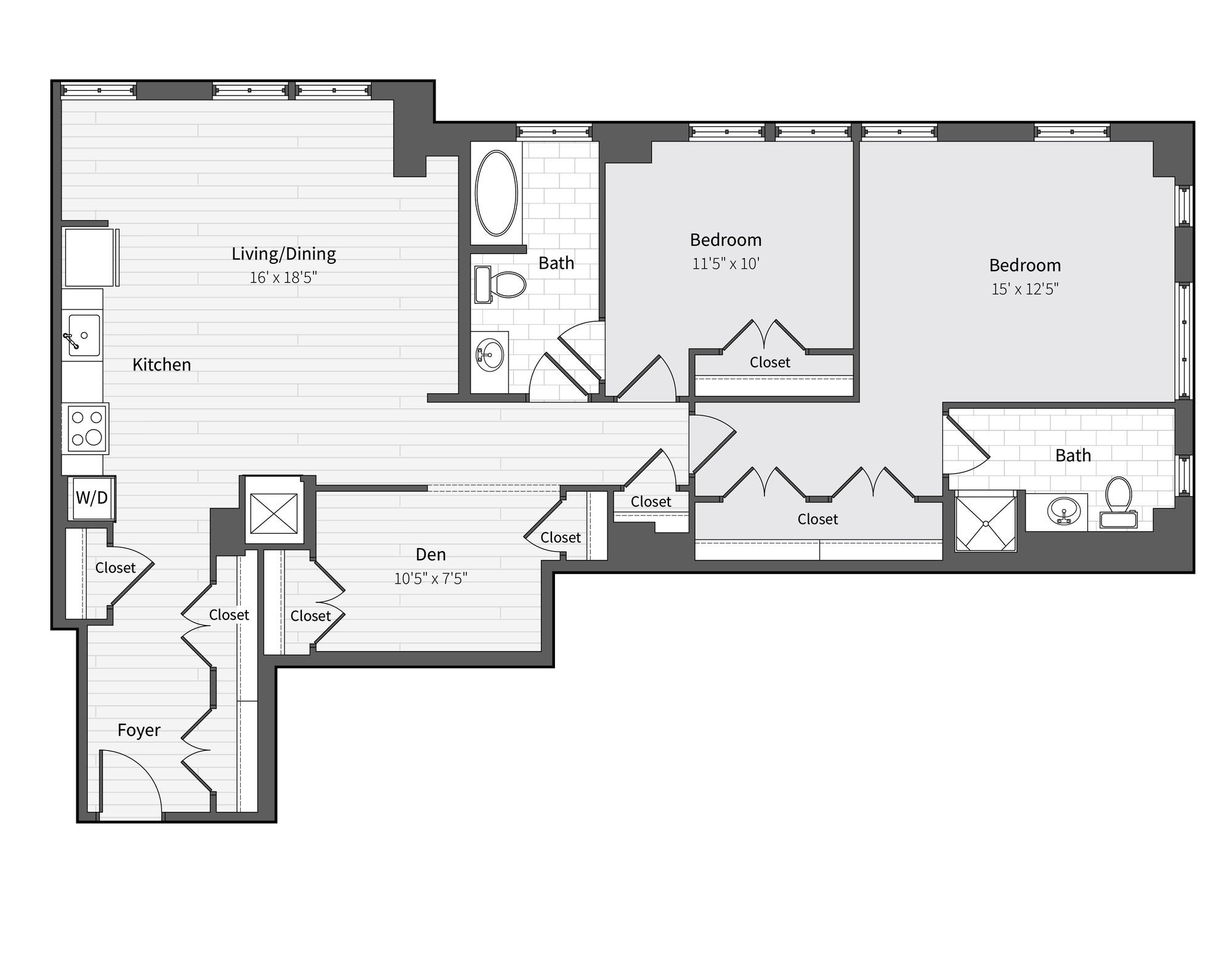 Apartment 369 floorplan