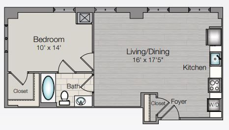 Apartment 228 floorplan
