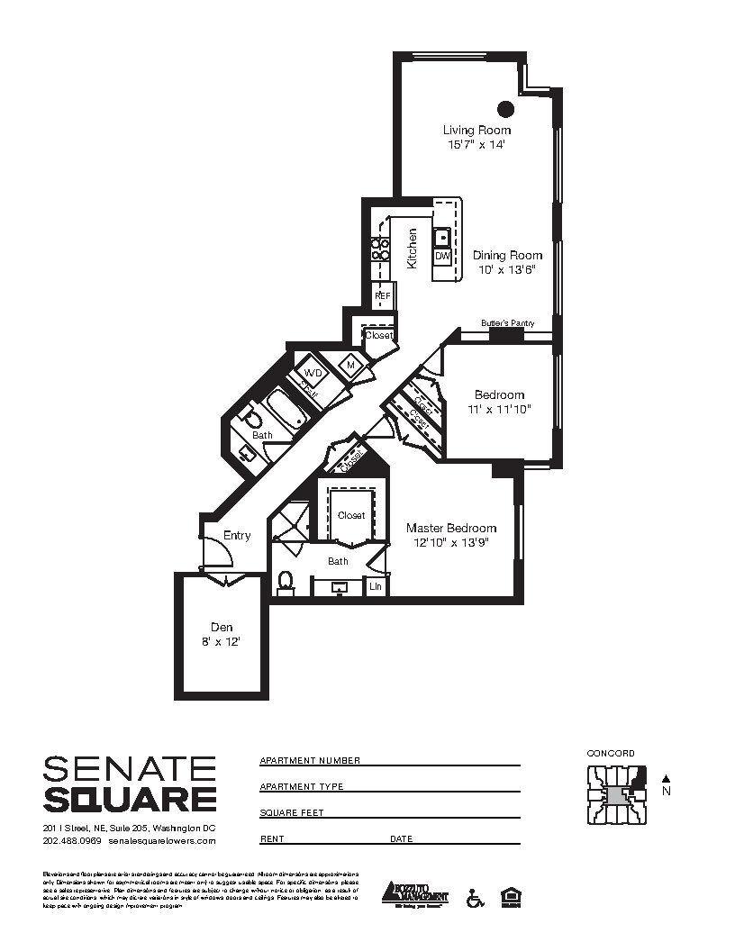 Apartment 5-0513 floorplan