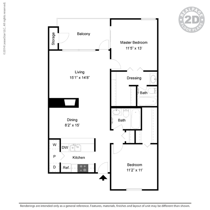 1 And 2 Bedroom Apartments In Arlington Tx The Eastmont Floor Plans