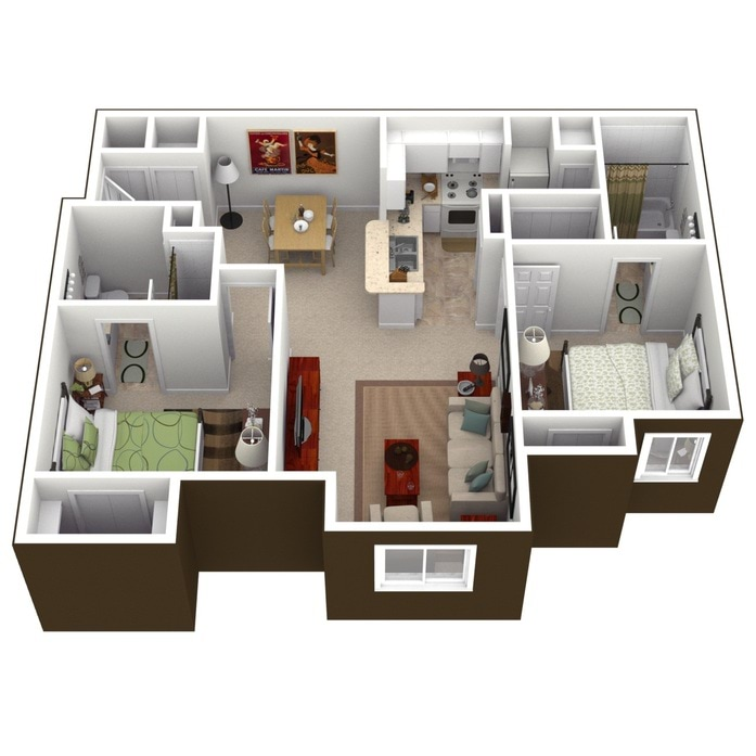 Floor Plans For Apartments orlando, fl pinnacle pointe floor plans | apartments in orlando