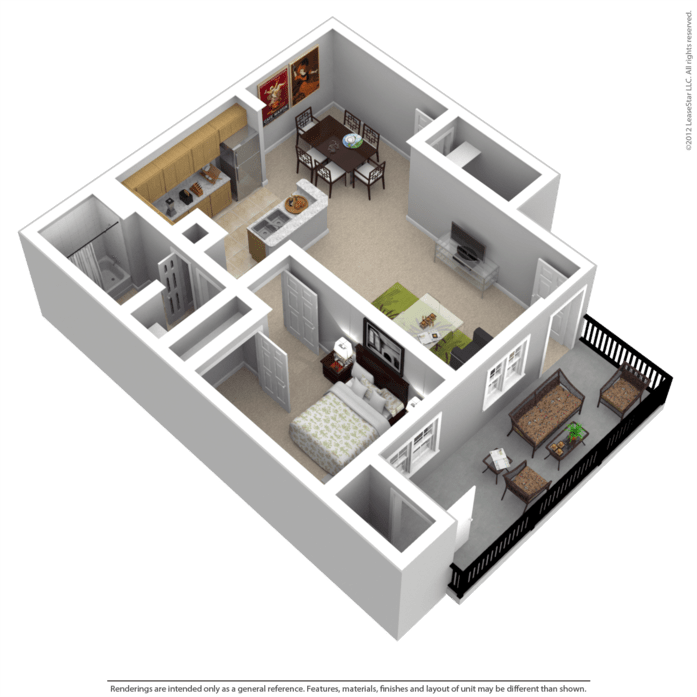 Kenosha, WI Kenosha Commons II Floor Plans