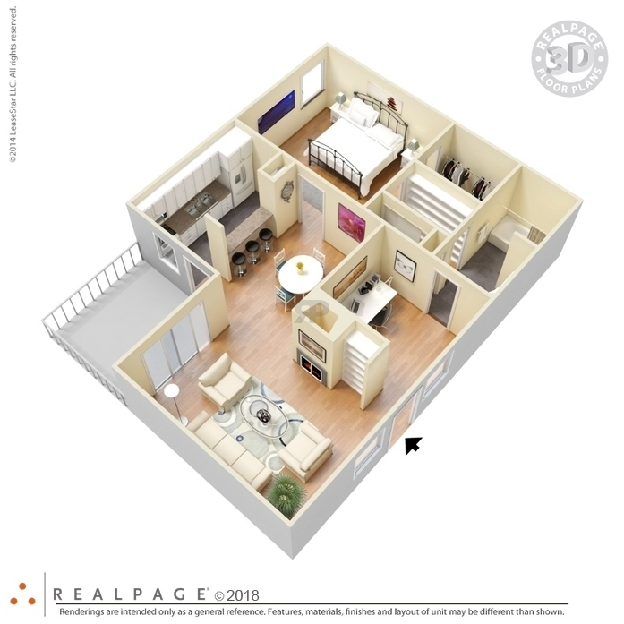 Dallas, TX Villa Torino Floor Plans