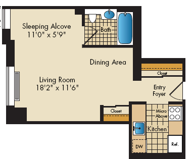 floor plan image of12F