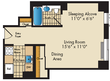 floor plan image of15E